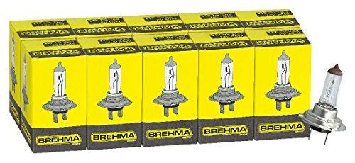 h7 birne 10x brehma h7 halogen lampe autolampe 12v im m rz. Black Bedroom Furniture Sets. Home Design Ideas
