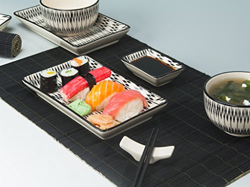 sushi set urban lifestyle sushi service bestseller g nstig kaufen im juli 2018. Black Bedroom Furniture Sets. Home Design Ideas