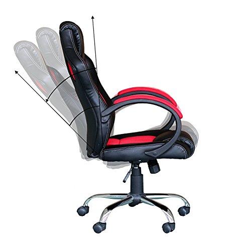 racing stuhl ebs racing b rostuhl gaming stuhl rot chrom im m rz 2018. Black Bedroom Furniture Sets. Home Design Ideas