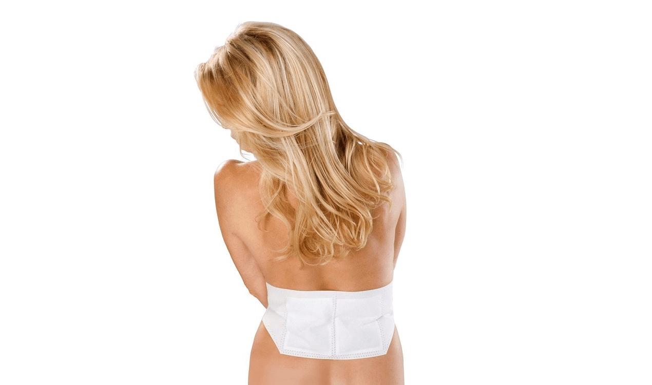 MEDISANA Akku Wärmegürtel Rückengürtel Rücken Stützgürtel Wärme Hüft Gürtel