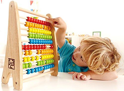 Rechenschieber Hape E0412 - Regenbogen-Abacus