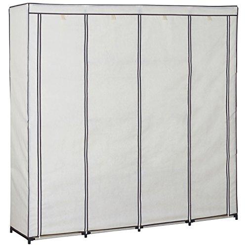 stoffschrank woltu ss5024 xxxl kleiderschrank stoff im. Black Bedroom Furniture Sets. Home Design Ideas
