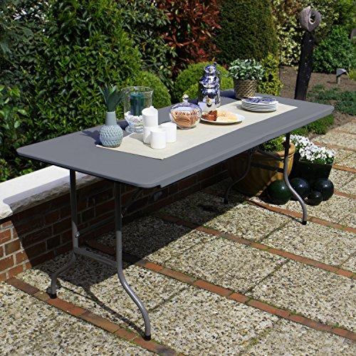 Bierzeltgarnitur Vanage Gartenmöbel-Set in grau - Festzeltgarnitur Fred
