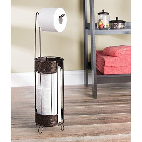 Toilettenpapierhalter ohne Bohren InterDesign Twillo Klorollenhalter