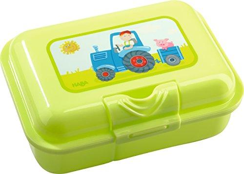 Brotdose für Kinder Haba 302821 Brotdose Traktor