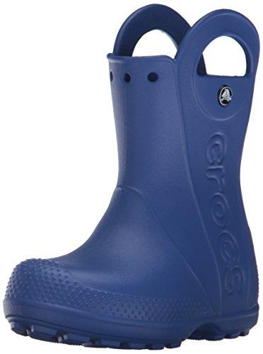 the latest a2c26 ae28a Kinder Gummistiefel Junge, Crocs Handle It Rain Boot, Blau, 27/28 EU