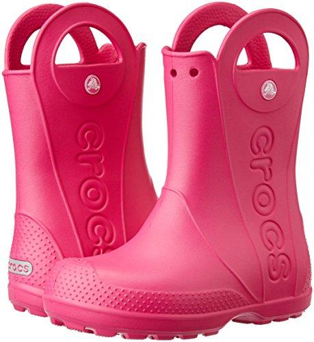 cheap for discount 28659 468a9 Kids Wellies Girls, Crocs Handle It Rain Boot, Pink, 27 / 28 EU