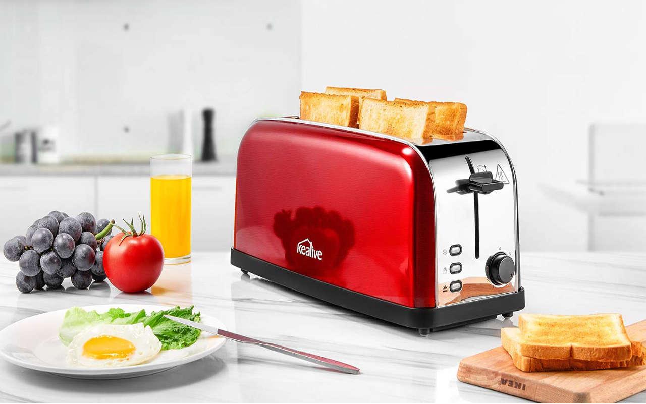 Lanschlitz Toaster