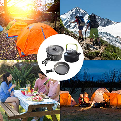 Camping Kochgeschirr 10-teilig Buycitky