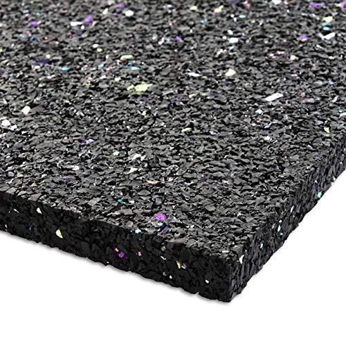 Antirutschmatte Bautenschutzmatte Gummigranulat Antivibrationsmatte 600x600 mm 10 mm dick