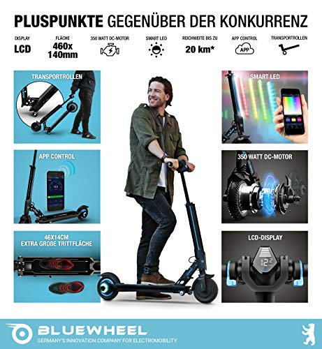 E-Scooter Bluewheel