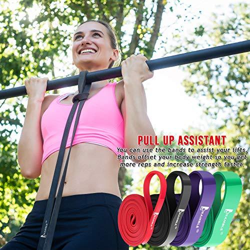 Bande di Resistenza Tubo ad Espansione Fascia Elastica Fitnessbänder Training