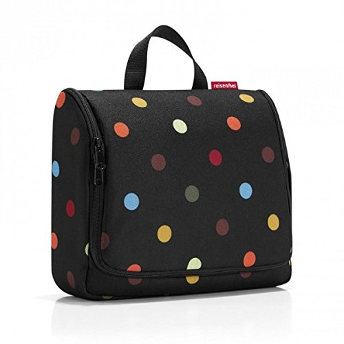Kulturbeutel reisenthel toiletbag XL dots Maße: 28 x 25 x 10 cm / Maße: 28 x 59 x 9 cm expanded / Volumen: 4 l