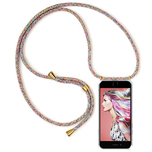 Samsung Huawei . Mobile phone chain PINK phone band Silicon Case for iPhone PHONE Necklace