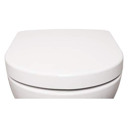Sedile Rialzato Per Wc.Copriwater Sedile Per Wc 4 1 Sedile A Forma Di D Bianco