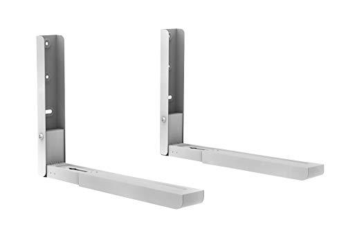 Weiß Universal Halter Wandhalter für Mikrowelle Microwelle Ausziehbar