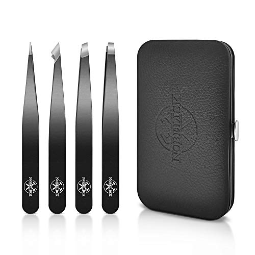 Eyebrow tweezers set