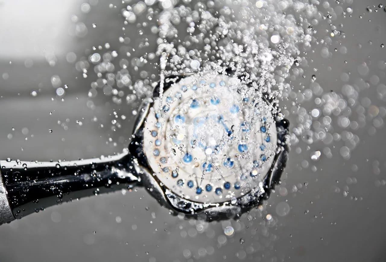 Shower head water-saving