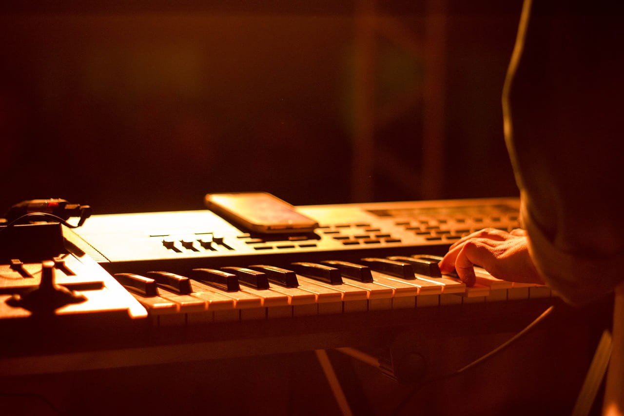 Klavierlampe