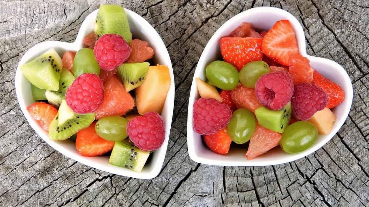Trinkflasche mit Fruchteinsatz