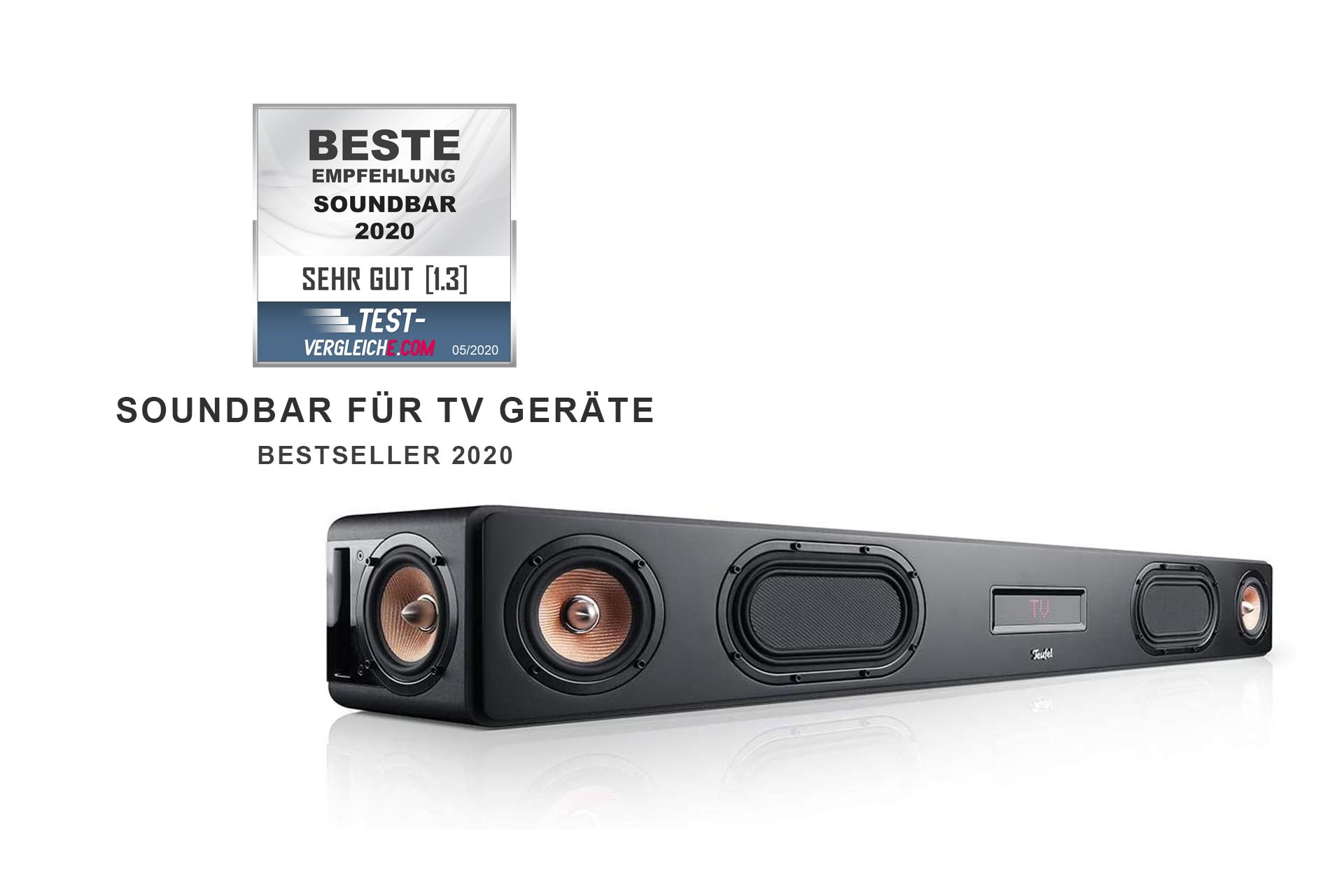 Soundbar for TV-enheter test