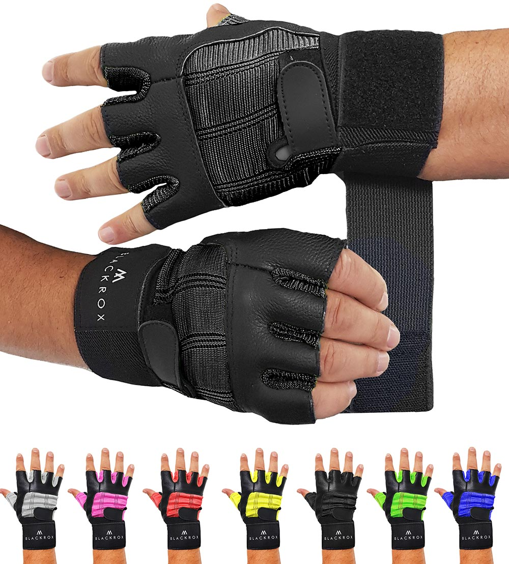 Fitness gloves leather