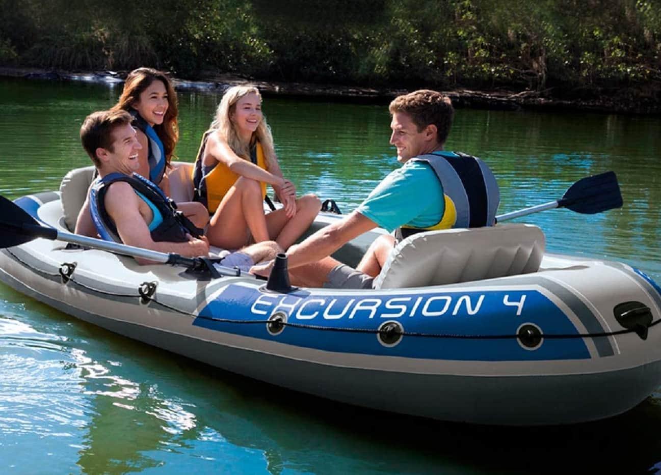 Intex inflatable boat