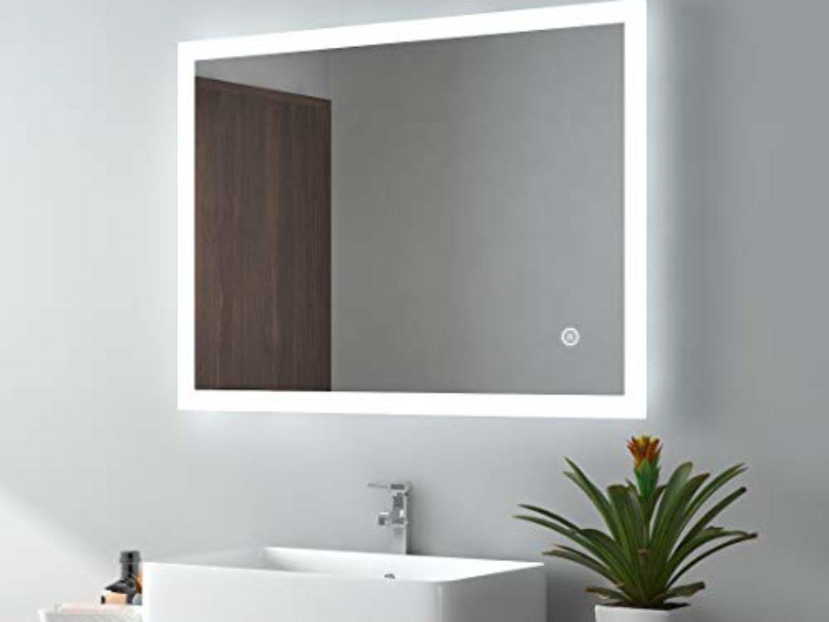 Bathroom Mirror Emke Led Bathroom Mirror 80x60cm Test Comparison
