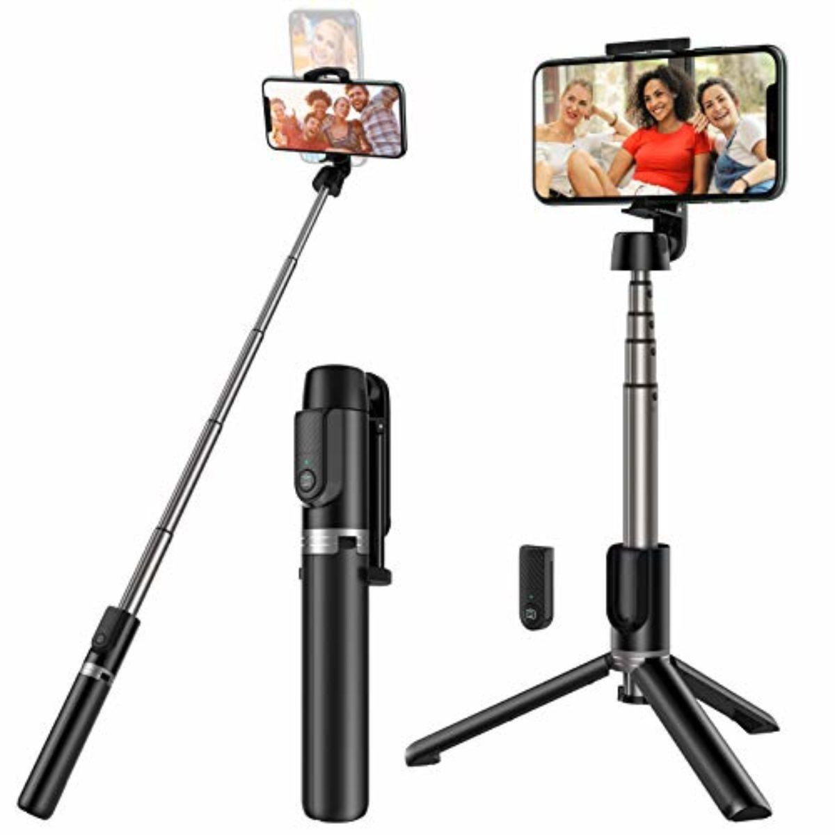 Selfie Stick Yoozon Bluetooth Stativ mit Fernbedienung Test ...